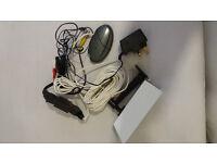 1 Micromark Heavy Duty CCTV Camera Black & White Plus Adapter to Record
