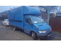 2004 IVECO DAILY LUTON WITH TAIL LIFT FULL MOT POSS PX