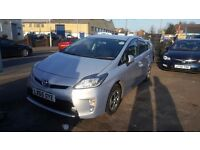 PCO Rent TOYOTA PRIUS 2013 Plate £130 p/w east london PCO APPROVED CAR FOR HIRE