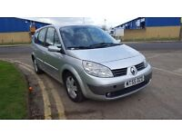 RENAULT SCENIC AUTOMATIC 7 SEATER 2006 LONG MOT STARTS AND DRIVES GREAT BARGAIN £895