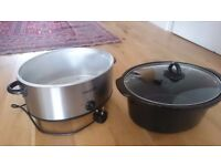 Crock pot slow cooker, large size, excellent cond - hardly used