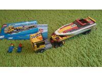 Lego City Power Boat Transporter (4643).