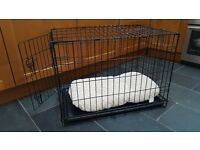 Single Door Dog Crate - Small and foldable
