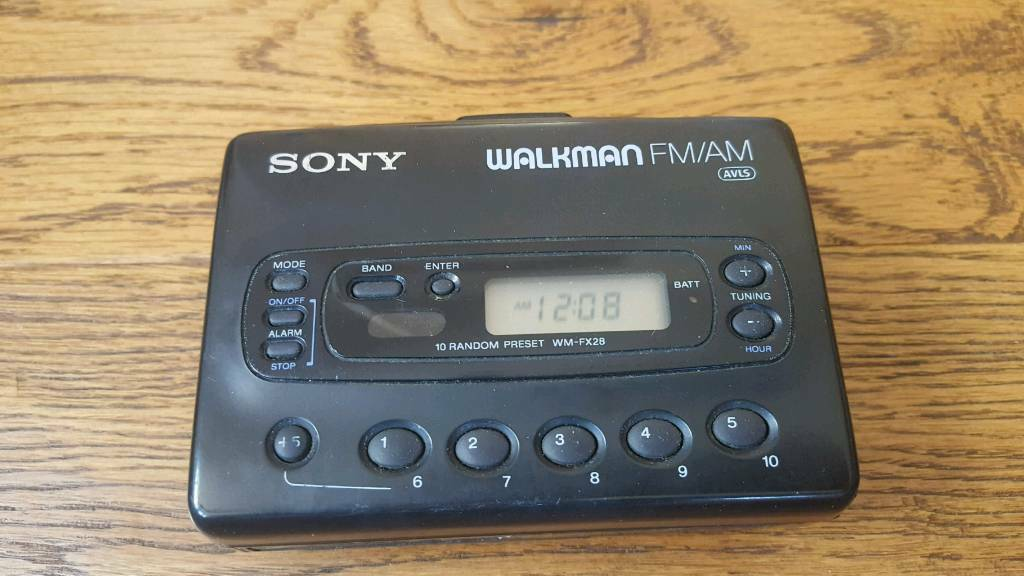 Vintage Sony Walkman In Working Order In Ipswich