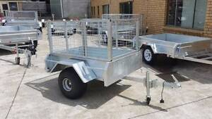 ATV Trailer with Cage - Hot Dipped Galvanised Glenorchy Glenorchy Area Preview