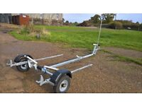 New, unused galvanised trailer to take to circa 16ft