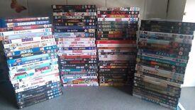 Bundle of over 100 dvds