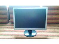 LG 20 inch monitor (W2042T -SF)