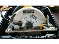 Dewalt 240v 190mm circ saw