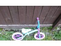Girls Frozen balance bike FREE to collect from Crown