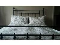 Next Double Bed & mattress