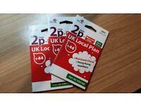 China Unicom UK Nano/Micro/Standard 4G PAY AS YOU GO Sim Card choose your number