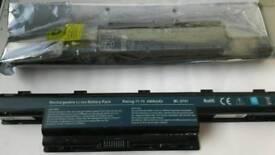 Two Laptop batteries model Packard BL-PB TE Easynote