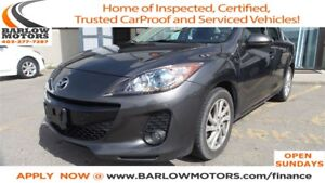2012 Mazda MAZDA3 GS-SKY ACTIVE - LEATHER - SUNROOF
