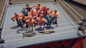 WWF 90's wrestling figures