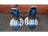 Obreien bindings for wather ski or snowboard in good condition can deliver or post!
