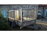 ifor williams gd105 caged trailer, used condition, good trailer