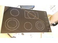 used Miele ceramic hob, recently removed from a highend refurb job