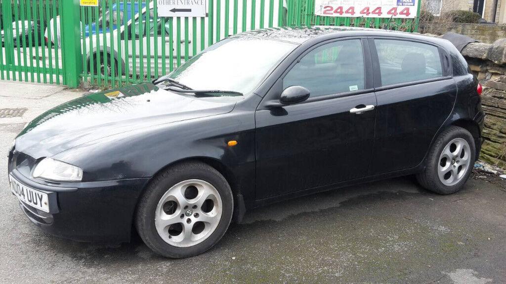 alfa romeo 147 1 6 5 door hatchback 2004 black in armley west yorkshire gumtree