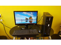 eXtreme Gaming & Workstation PC i3 3.7GHz 8gb-Ram 128GB SSD+500GB Win10