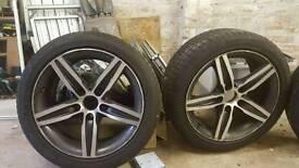 17 inch bmw 1 series f21 alloys