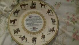 Aynsley plates - The Horse