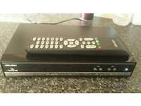 Freesat h.d box with remote