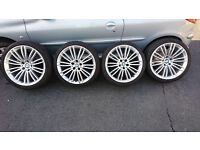 19 inch BMW Alloy Wheel Set