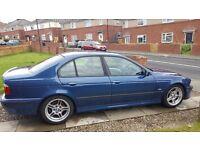 BMW E39 530i M Sport Topaz Blue Auto
