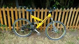 Cannodale mountain bike