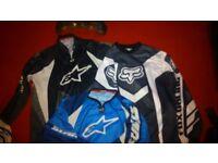 3 x motocross tops