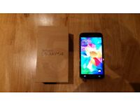 Samsung Galaxy S5 Black Mobile Phone, As new with box and unused accessories.Excellent condition.