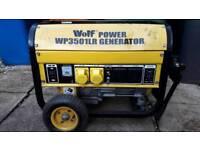 Wolf WP3501LR Generator 110v & 240v