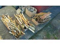 Free chopped fire wood