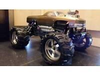 HPI Savage xl rc nitro car monster truck