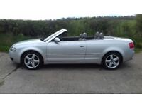 2004 Audi A4 1.8T Convertible 12 Months Mot, Electric hood, Usual extras, Heated Seats, Warranty
