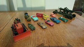 Assorted Dinky and Corgi Toys