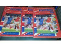 PANINI FOOTBALL 86 STICKER ALBUMS