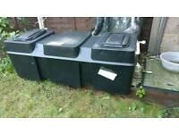 Water tank for loft 50 Gallon / 227 Litre Low Level (Coffin)