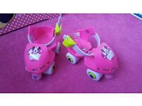 Minnie Mouse beginner quad skates