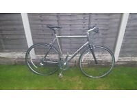 Genesis Day 04 Flat Bar Road Bike Shimano 105 Groupset 56cm