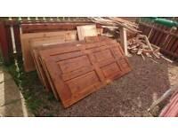 Free wooden doors