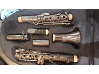 B flat clarinet - Leblanc Backun Bliss model LB210 full Grenadilla wood