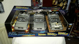 back to the future trilogy pack set