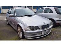 Bmw 316i manuval silver petrol 2001model spares or repairs lost ki
