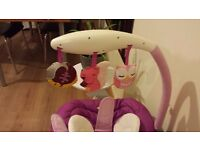 Chicco Baby Bouncer OWLET Theme Excellent Condition