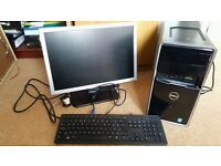 DELL PC with keyboard and screen