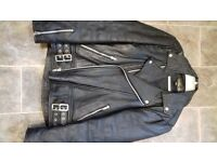 Leather Biker style jacket