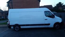 looking full time van driver job