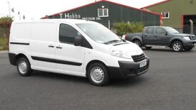2015 PEUGEOT EXPERT HDI PROFESSIONAL. ONLY 31K MILES. AIRCON. 3 SEATS. FULL BULKHEAD. PLY LINED.